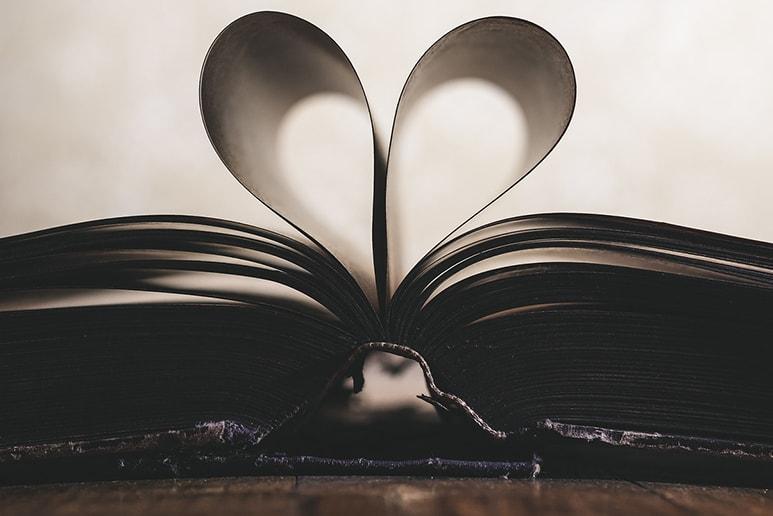boek met hart